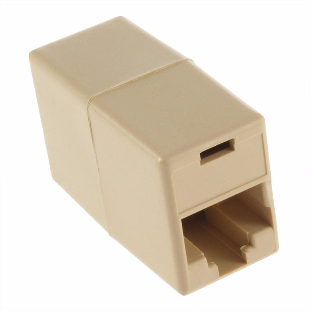 Image 4 - RJ 45 SOCKET RJ45 Splitter Connector CAT5 CAT6 LAN Ethernet Splitter Adapter Network Modular Plug For PC Lan Cable-in Computer Cables & Connectors from Computer & Office