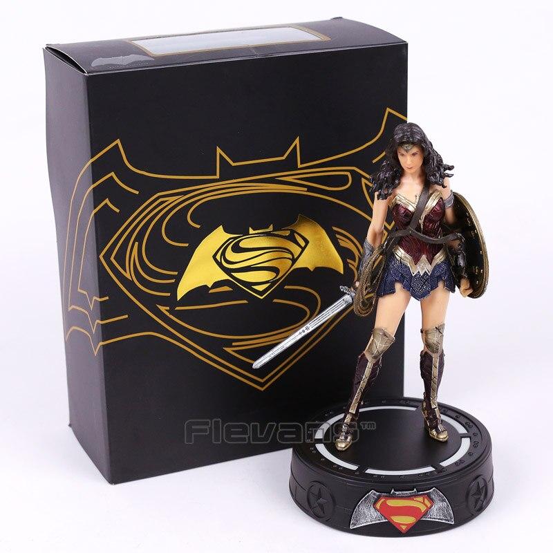 Бэтмен/Wonder Woman статуя с легким Рисунок Коллекционная модель игрушки