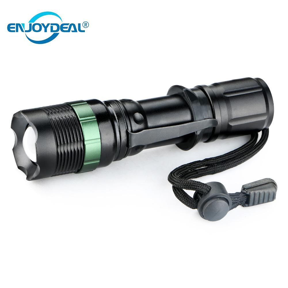 Einstellbare 3 Modi Q5 LED Taschenlampe 3000 Lumen Taktische LED-Blitz Licht Lampe Camping Angeln Lanterna verwendung AAA/18650