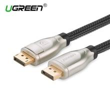 Ugreen 4 К 1.2 Дисплей Порты и разъёмы DP мужчина к Дисплей Порты и разъёмы DP мужчине кабель Позолоченные DP кабель 2 м 3 м 5 м для ПК Мониторы проектор Ноутбук ТВ