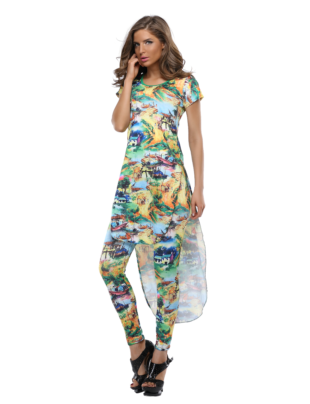Tropical Cocktail Dresses 75