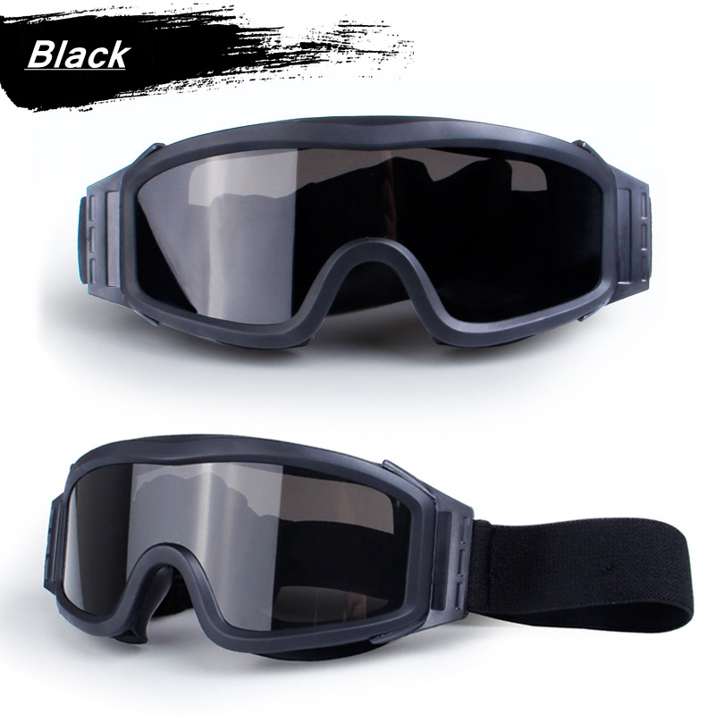 HTB1xmPkXsvrK1Rjy0Feq6ATmVXaW - Black Tan Green Airsoft Tactical Goggles USMC Tactical Sunglasses Glasses Army Airsoft Paintball Goggles