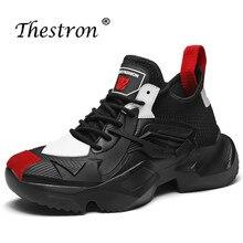 2019 Fashion Sneakers Men Summer Walking Shoes Luxury Brand  Sport Sneaker Mens Trainers Black White