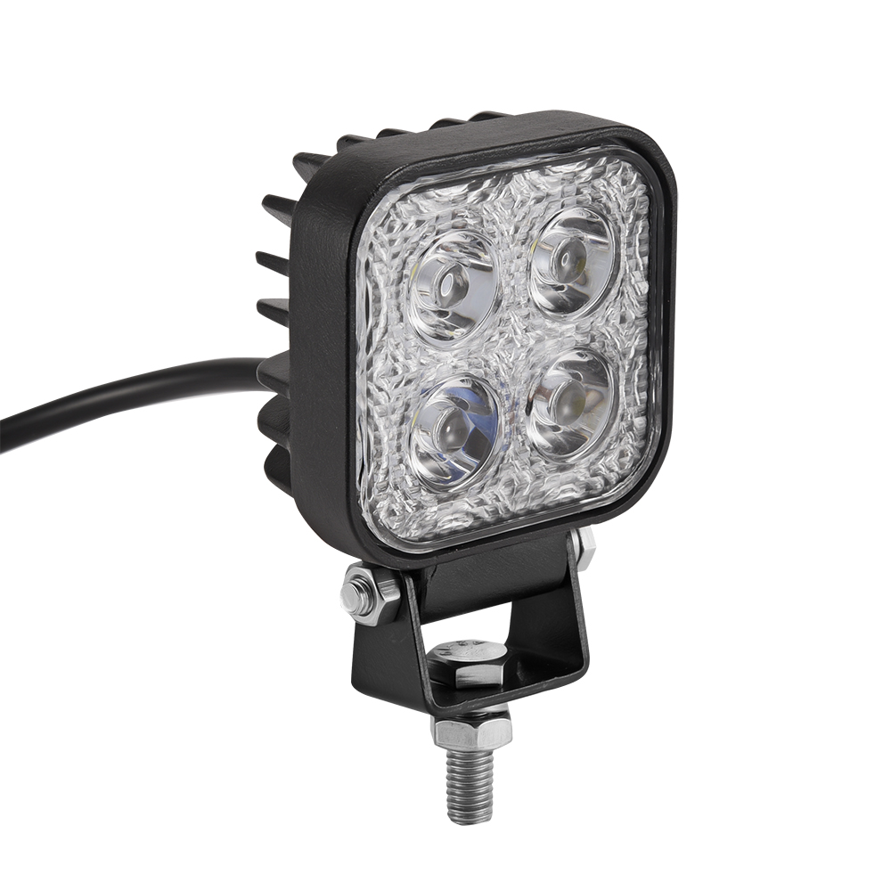 1pc 12w Car LED Offroad Work Light Bar for Jeep 4x4 4WD AWD SUV ATV Golf Cart 12V/24V Driving Lamp Motorcycle