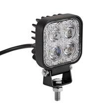 1 шт. 12 Вт светодио дный автомобиль Offroad свет работы бар для Jeep 4×4 4WD AWD внедорожник ATV Гольф корзину В 12 В/24 В дальнего мотоцикл