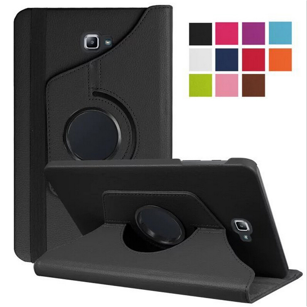 Moda 360 Rotating Caso Manga para Samsung Galaxy Tab Um Caso A6 10.1 P580 P585