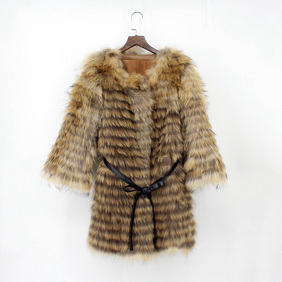 genuine raccoon fur coat (2)
