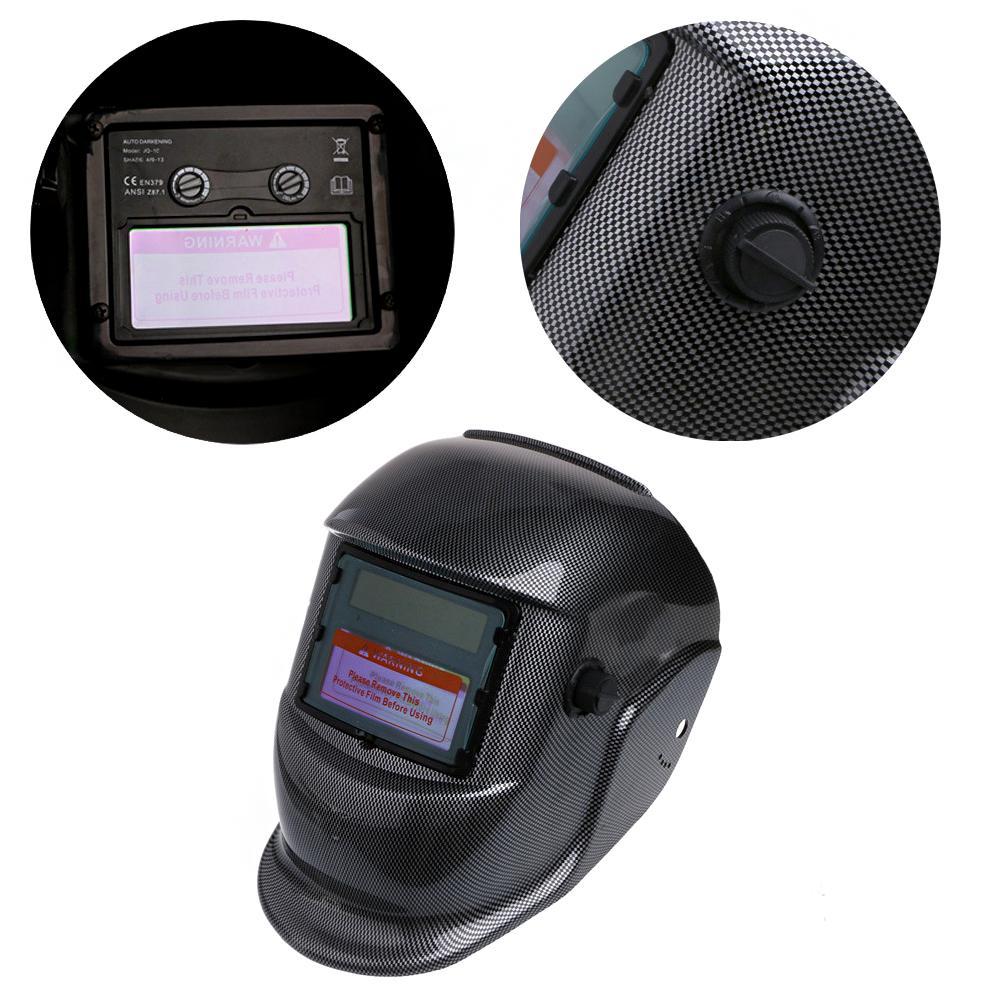 Solar Power Welder Welding Helmet Mask Automatic Adjustable Shade Lens Filter!