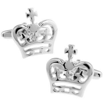 WN hot sales/boutique crown cufflinks quality French shirts cufflinks wholesale/retail/friends gifts