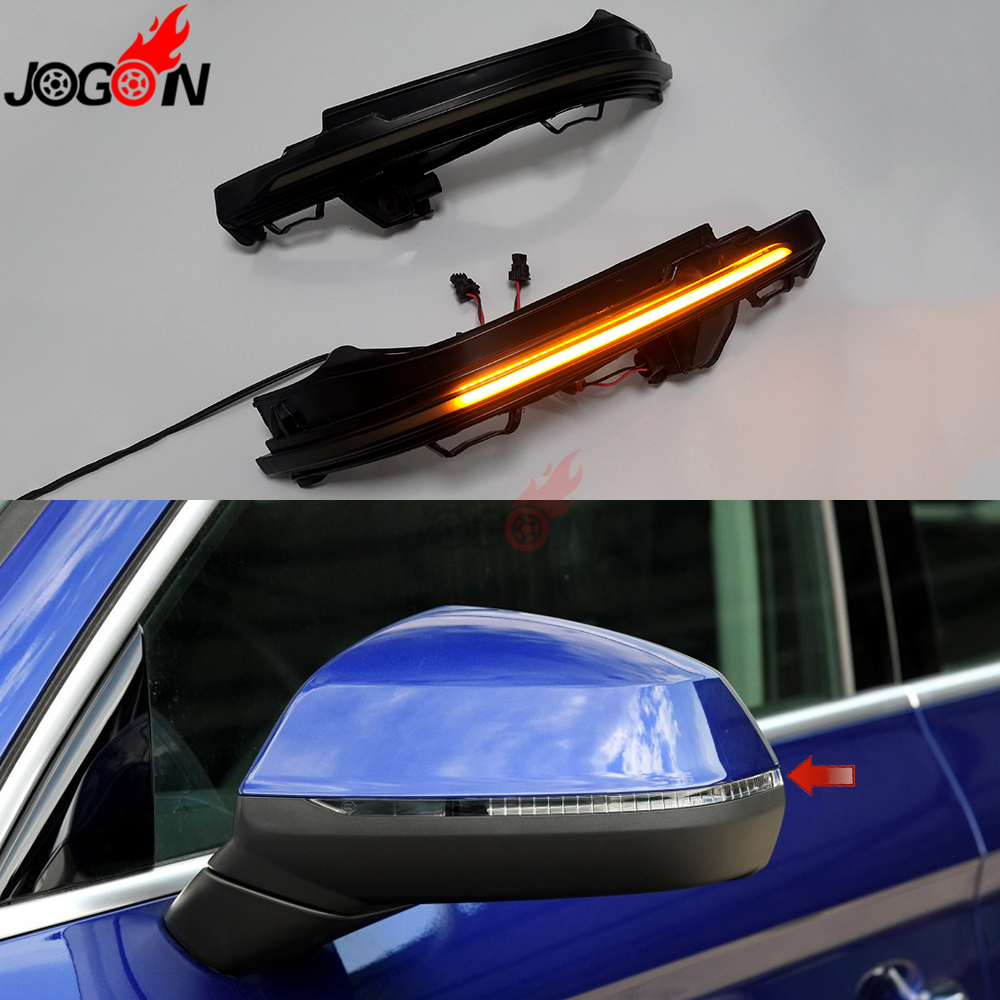 For Audi Q7 4M 2016 -2019 Q5 FY 2018 -2019 Side Wing Rearview Mirror Blinker Indicator LED Dynamic Turn Signal Light Sequential Указатель поворота