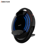 INMOTION V8 Electric Unicycle Monowheel Onewheel Selfbalancing Scooter EUC Off road APP With Decorative Lamps Electric Scooter