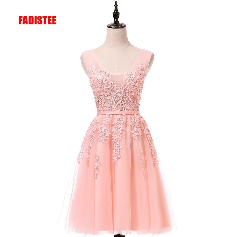 Hot sale cocktail party Dresses short Vestido de Festa mini sexy appliques dress V neck beading