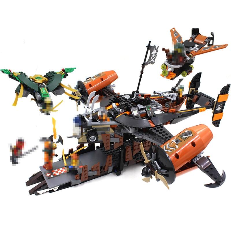 2017 Ninja Temple Dragon DIY Building Block Sets educational Toys for Children Compatible LegoINGlys Ninjagoes Building Blocks