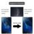 Cojín protector de pantalla para samsung galaxy tab s3 cuadro galss templado películas mediapad 9 h dureza 100% para samsung tab a t580 10.1