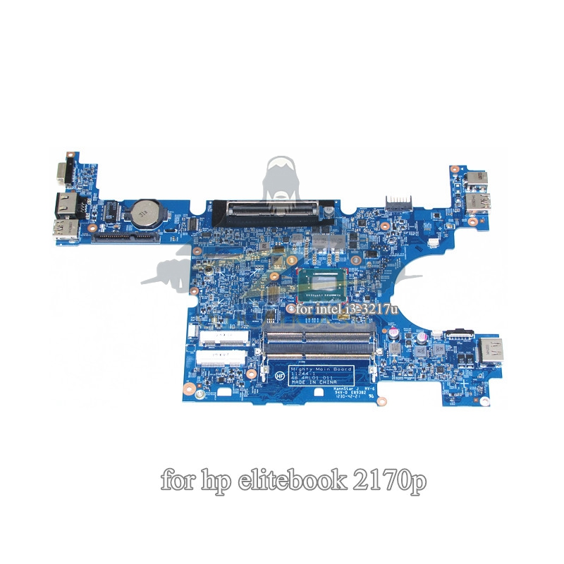 693356-001 48.4RL01.011 for hp elitebook 2170P laptop motherboard QM77 i3-3217u GMA HD4000 DDR3 цена
