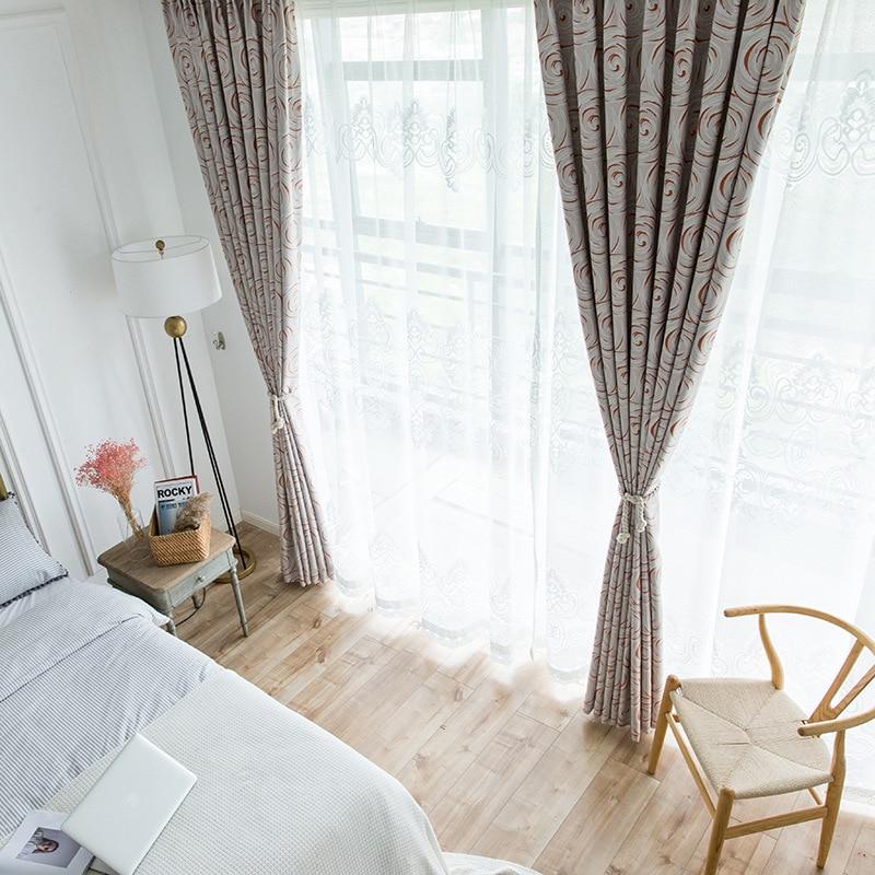 € 20.13 33% de DESCUENTO Aliexpress.com: Comprar Boutique moderno cortinas  para Living comedor dormitorio sencillo de doble cara cepillado tela de la  ...