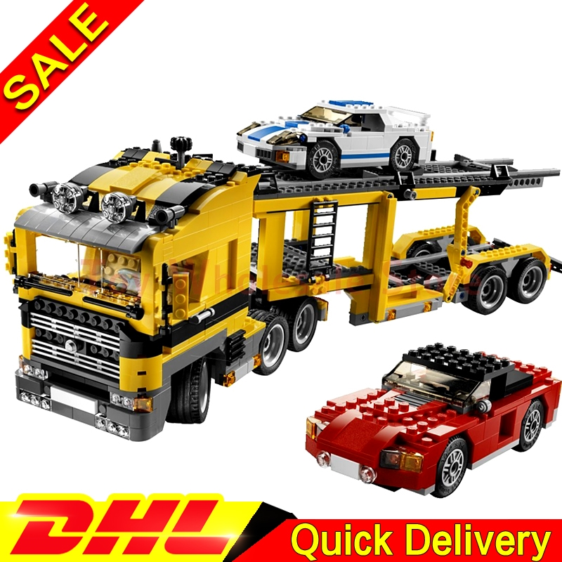 Lepin 24011 1344Pcs Technic Kits The Three in One Highway Transport Educational Building Blocks Brick Toys Model Gift Clone 6753 transport phenomena in porous media iii