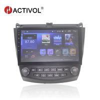 Bway 10.2 car radio for Honda Accord 7 (2.0) 2004 2007 android 7.0 car dvd player with bluetooth,GPS,SWC,wifi,Mirror link