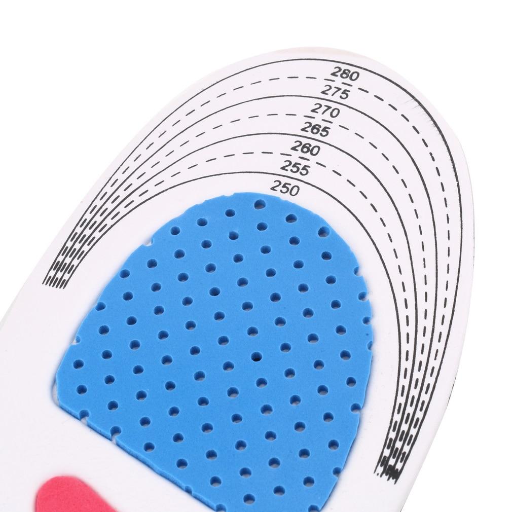 Größe Unisex Orthesen Arch Support Schuh Pad Sport Running Gel - Camping und Wandern - Foto 6