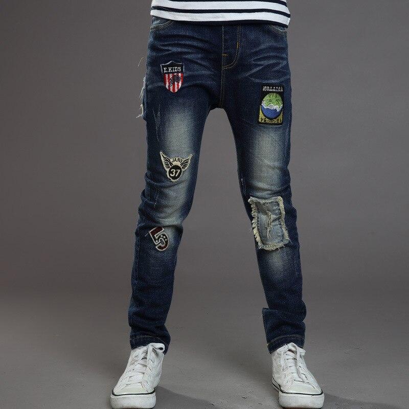 Hot Selling 2016 New Spring Autumn font b Boys b font Trousers Fashion Elastic Waist Kids
