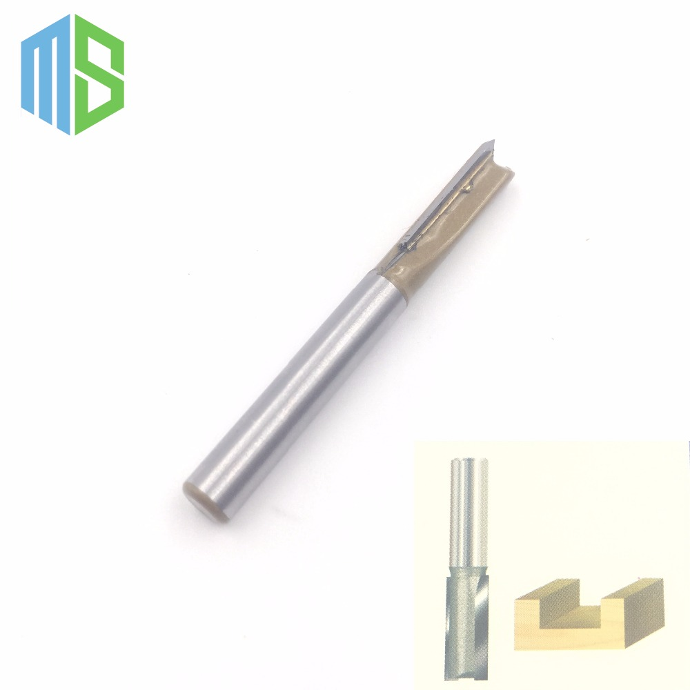 1/4 x 5/16 inch Straight Bit Tungsten Carbide Professional 1/4 Shank 5/16 Blade Router bit Wood Sharp Cutter Two Flute Wsasc high grade carbide alloy 1 2 shank 2 1 4 dia bottom cleaning router bit woodworking milling cutter for mdf wood 55mm mayitr