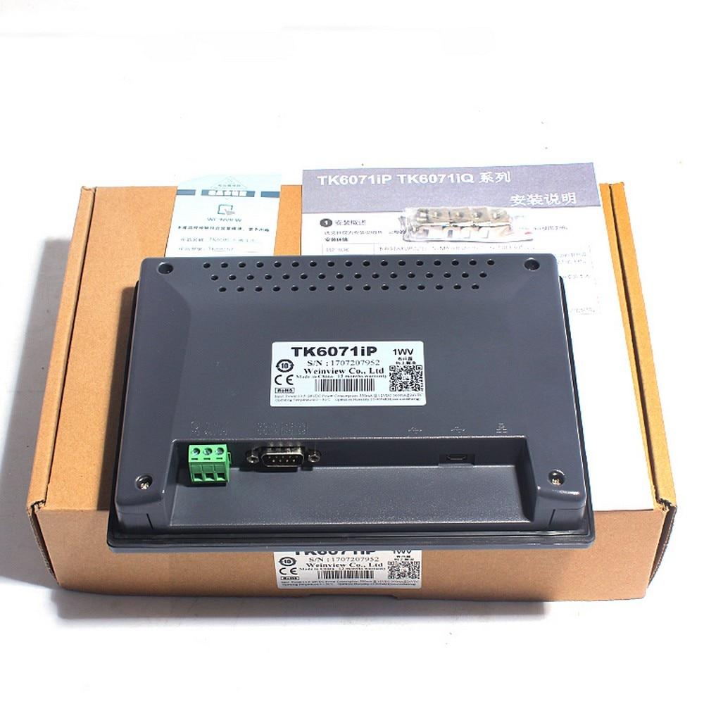 TK6071IP HMI 7 TFT 800 x 480 Touch Screen Operator Panel MPI 187 5K WEINVIEW Weintek