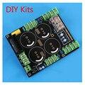 Retificador de Filtro da fonte de Alimentação Placa de Proteção Speaker Amplificador Kit DIY