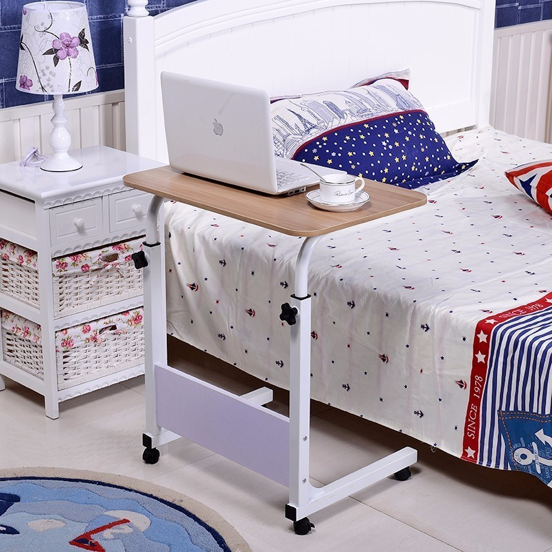 BSDT notebook comter bed with desk top and Simple bedside table FREE SHIPPING bsdt with simple household mobile rotary bedside table yi amoy lazy notebook comter desk on bed free shipping