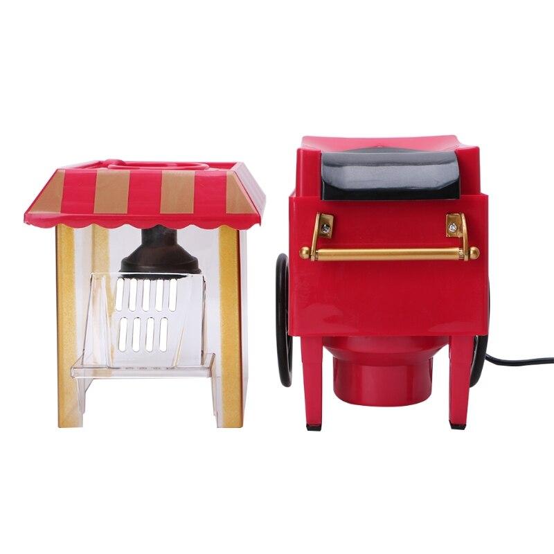110V 220V utile Vintage rétro électrique pop-Corn Popper Machine maison fête outil ue Plug bricolage maïs Popper enfants cadeau Air chaud - 4