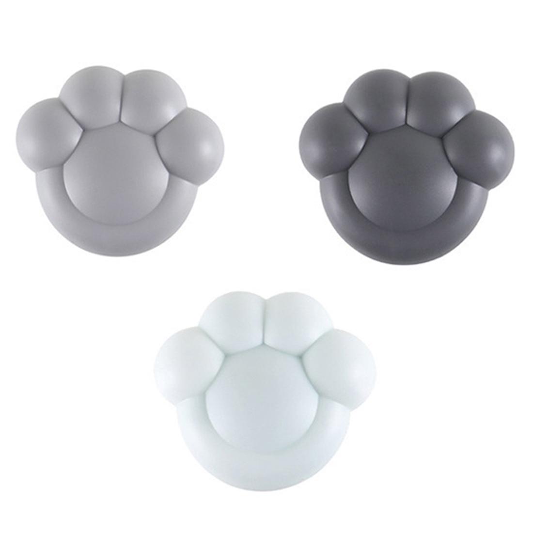 1/3/6pcs Bear Paw Shape Air Purifier Refrigerator Smell Remover Freshener Shoe Wardrobe Deodorant Box - Random Color