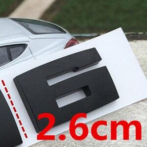 Image 5 - DIY Matte Schwarz für BMW M M1 M2 M3 M4 M5 M6 X1M X2M X3M X4M X5M X6M M550d M50i m135i M240i M335d Emblem Auto Stamm Abzeichen Aufkleber