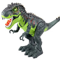 Electric Walking Dinosaur Toy Jurassic Park Real Movement T Rex Figure Toy with Sound Kids Classic Model Toys Gift