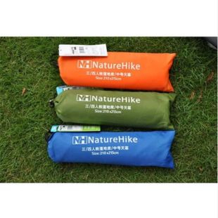 NH2.1* 2.15 waterproof outdoor 3-4 persons picnic camping tent mats and velarium