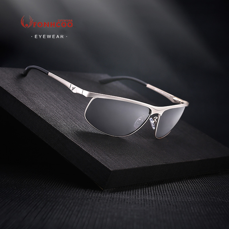 FONHCOO 2017 Brand Designer hot rays sunglasses new fashion Sunglasses Men driver Polarized glasses UV400 Goggles Oculos De Sol