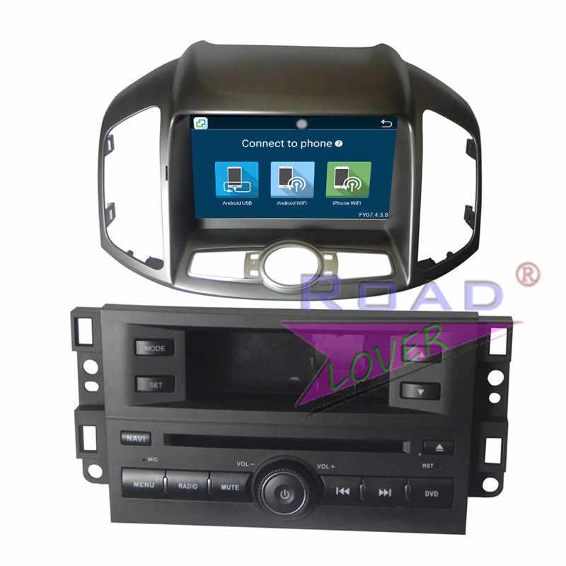 Roadloevr Android 6,0 2 Din coche estéreo reproductor de DVD automotriz para Chevrolet Captiva 2006-Radio navegación GPS 8 pulgadas magnitol BT