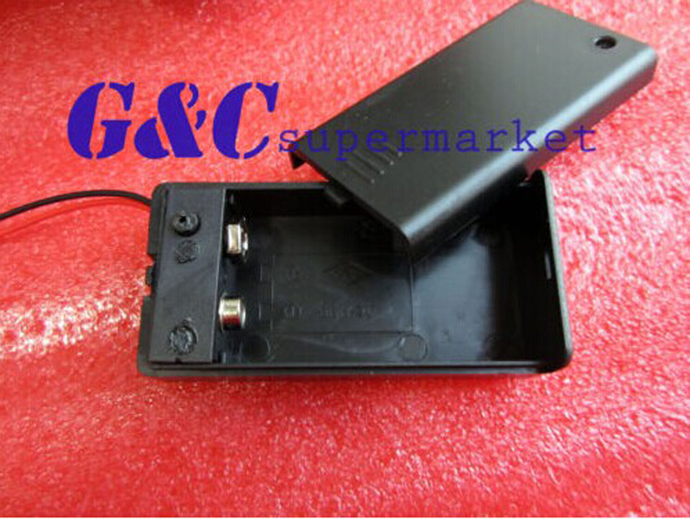 5PCS 9V Battery Holder with ON/OFF Switch 9 volt Box