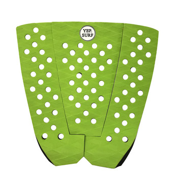 YEP Glue Deck Pad Surfboard Tail Pads green color Surf Traction Pad EVA Grip Pad in Surfing presale