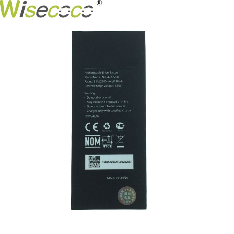 Wisecoco NBL-42A2200 2200mAh 3.8V Battery For Neffos C5 TP701A B C E Phone Battery Replacement + Tracking NumberWisecoco NBL-42A2200 2200mAh 3.8V Battery For Neffos C5 TP701A B C E Phone Battery Replacement + Tracking Number