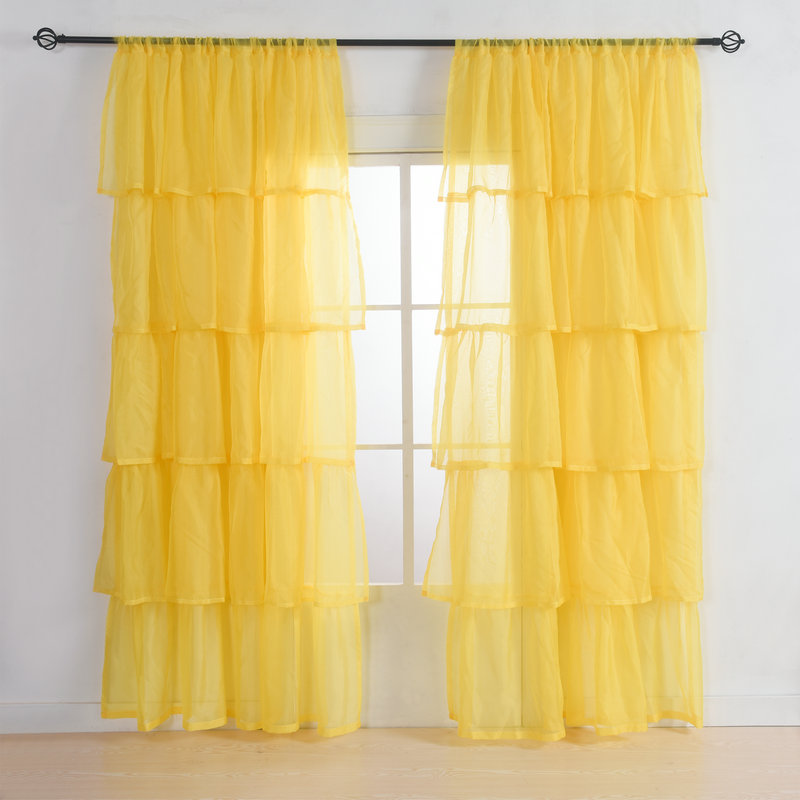 Online Get Cheap Ruffled Curtains Aliexpress Com Alibaba Group