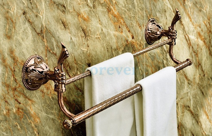 Free shipping bathroom hardware accessories copper towel hanging rose gold single towel rack rose gold towel rack RG008b-1 folding a frame electric guitar floor stand holder acoustic guitar electric guitar bass floor rack holder promotion