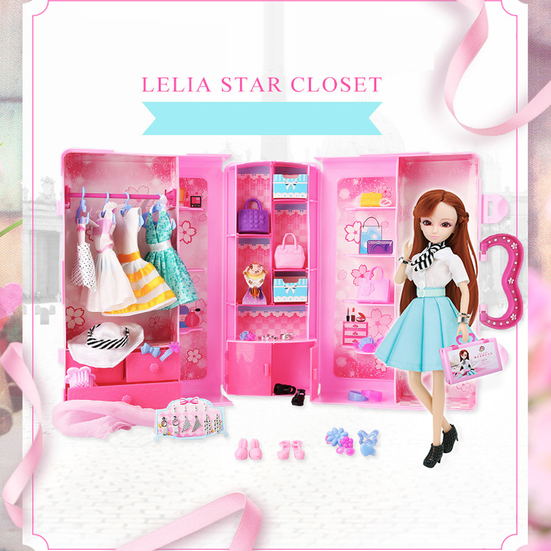 Aliexpress.com : Buy 1 Set Doll Dress Up Wardrobe Package Gift Box Couples  Clothing Suit Girl Toys Dream Closet Shoes Bag Clothes High Quality Girls  From ...