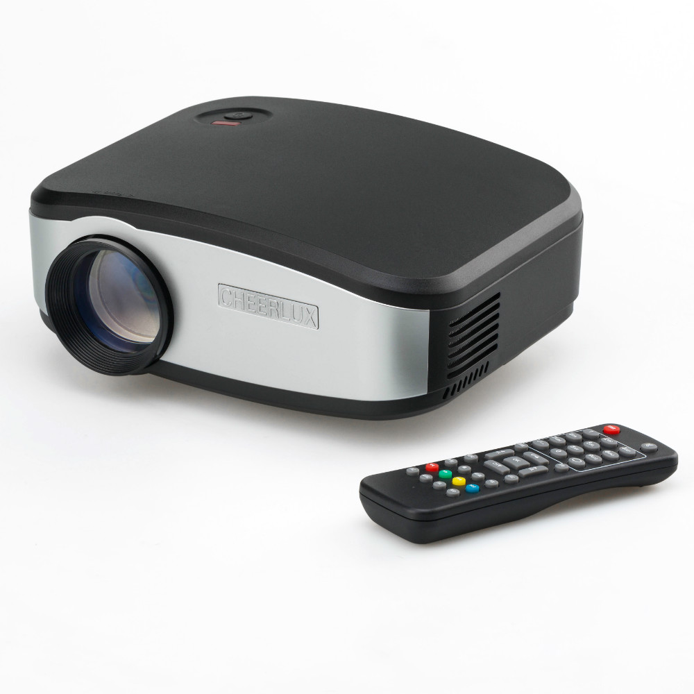 Cheerlux c6 mini projector review portable yet powerful for Miniature projector reviews