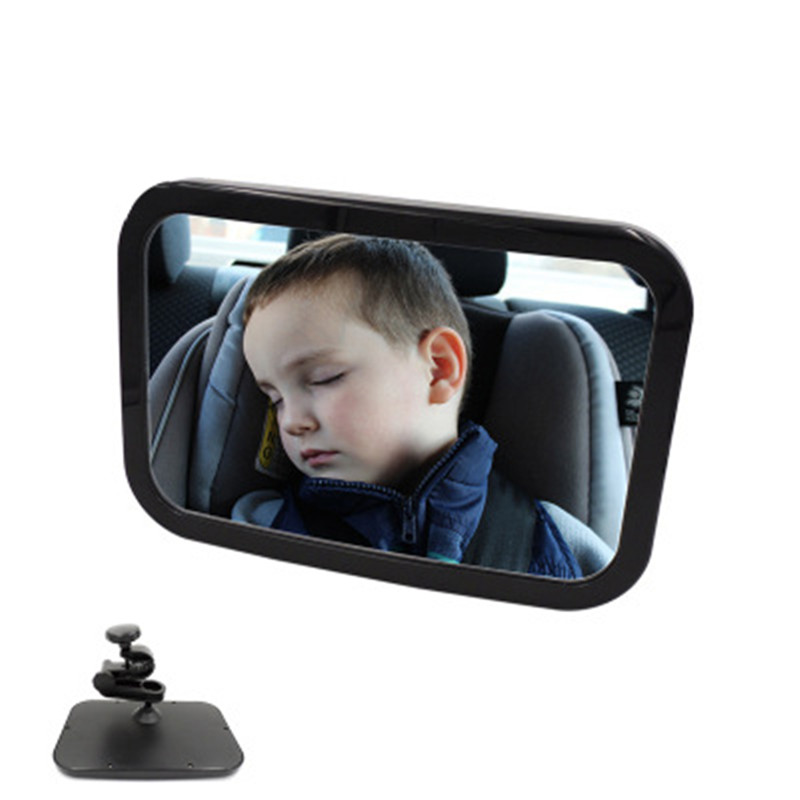 Car Seat Rearview Mirror Childrens Observation Mirror Baby Car Baby Safety Reverse Basket View Mirror Interial Accessories