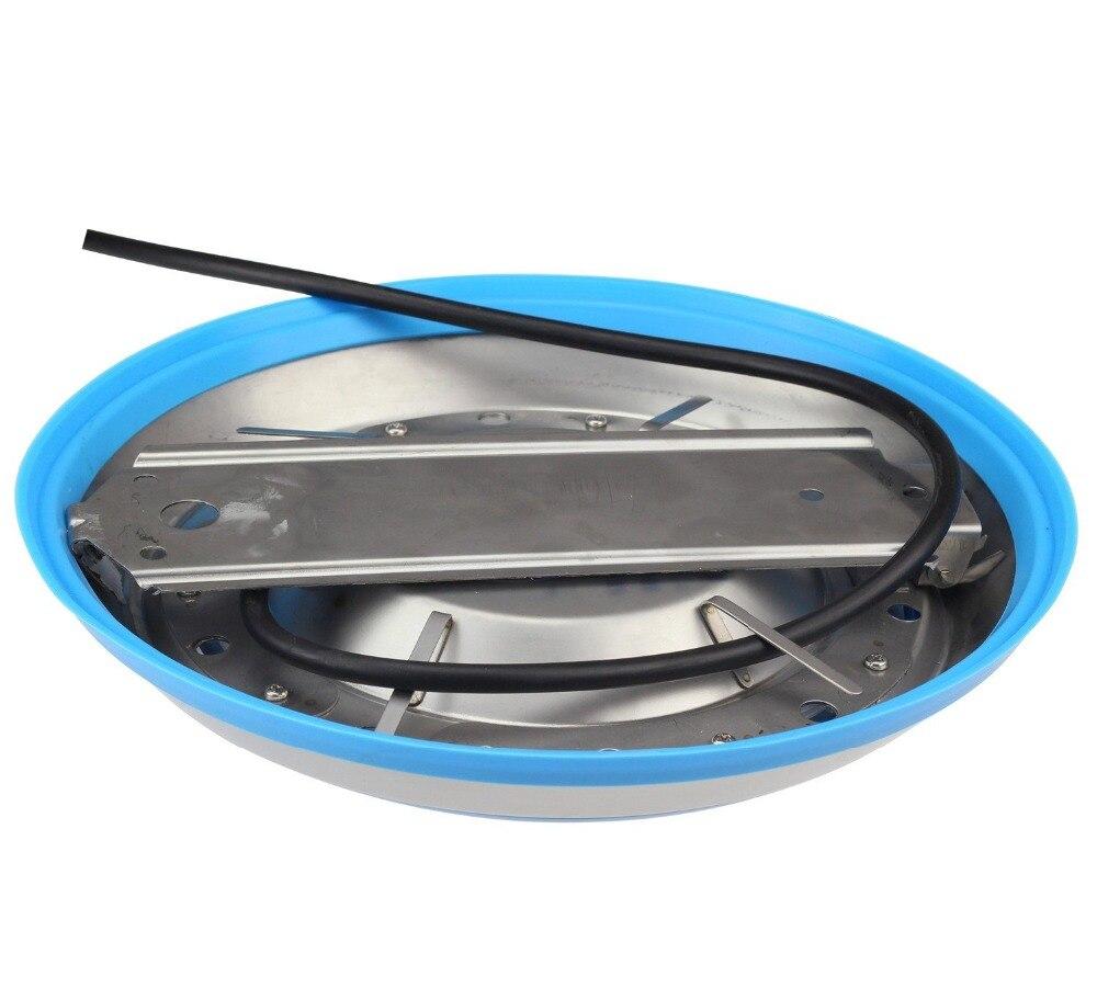 Светодиодный RGB подводный свет для плавательных бассейнов Нержавеющаясталь/стены поверхностного монтажа, AC12V Водонепроницаемый IP68, Беспр... - 2