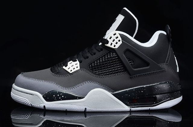 more photos 4bbb9 48f06 New J4 IV Stealth Oreo Fear Pack Mens Retro 4 Basketball Atheletic Shoes  Size 8-12 Black White Free Shipping