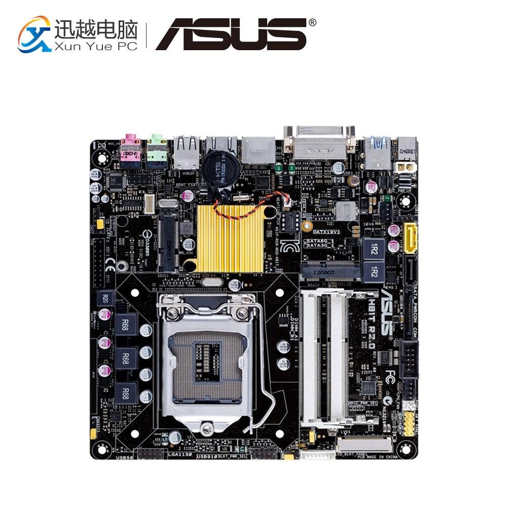 все цены на Asus H81T R2.0 Desktop Motherboard H81 Socket LGA 1150 i7 i5 i3 DDR3 16G SATA3 UBS3.0 Mini-ITX онлайн