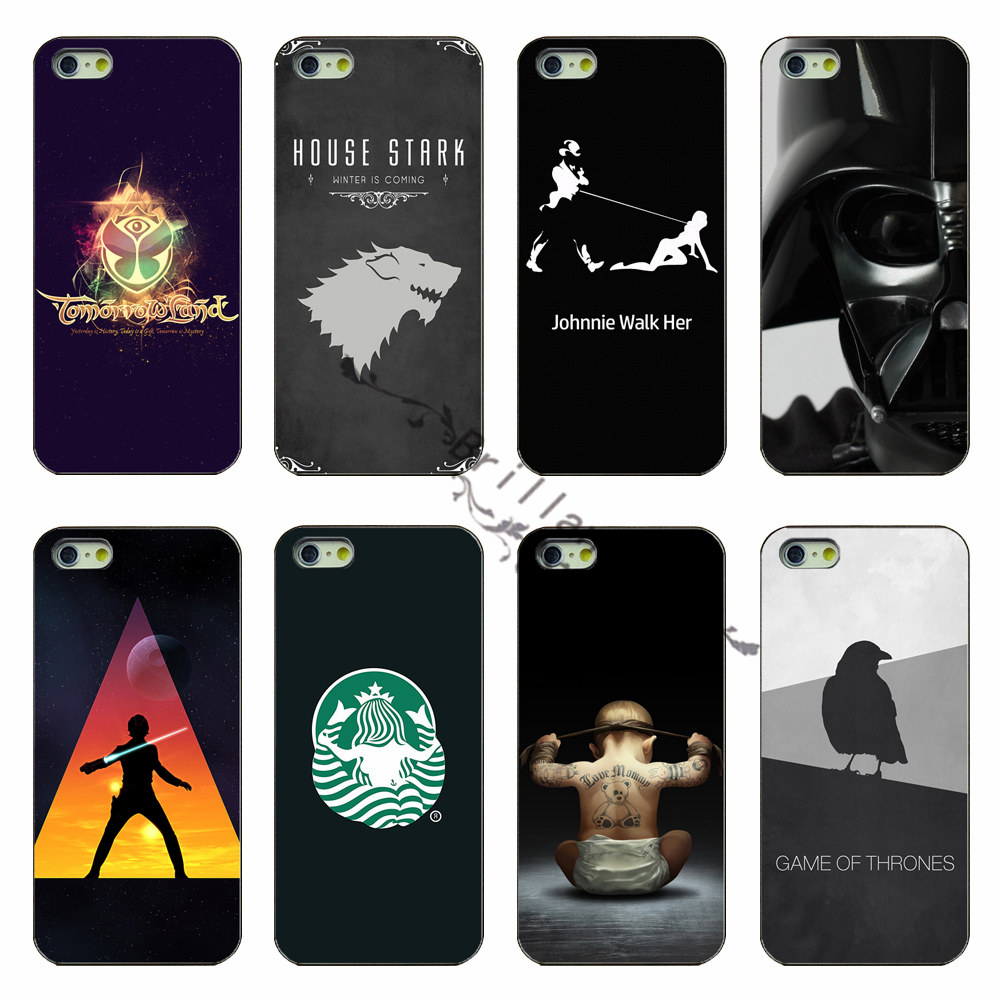 Latest Fashion PC Black Phone Shell Cover for Star Wars The Power Game Phone Case For Apple iphone 5 5s case