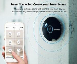 Image 3 - Orvibo Socket Allone Pro universel intelligent domotique télécommande Wifi IR RF contrôleur Hub pour Alexa google Assistant