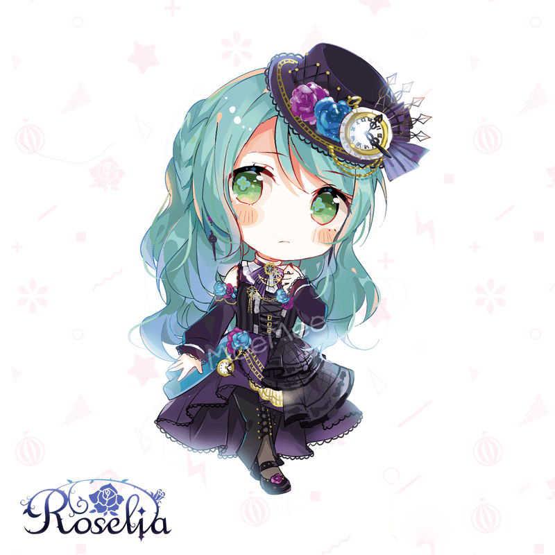 Japon Anime jeu BanG Dream! Roselia Minato Yukina Imai Risa Cosplay fête acrylique porte-clés charme téléphone pendentif porte-clés cadeaux