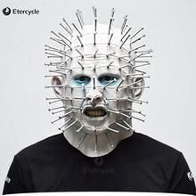 Страшная маска на Хэллоуин, страшные маски для взрослых, вечерние, косплей, пародия, реквизит для игры, для мужчин/женщин, высокое качество, латексная маска
